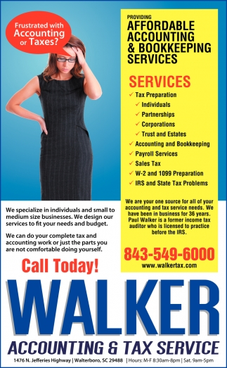 Providing Affordable Accounting & Bookkeeping Services