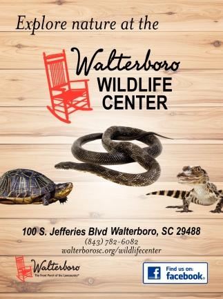 Explore Nautre At The Walterboro Wildlife Center