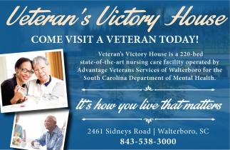 Come Visit A Veteran Today!