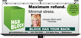 Maximum Refund. Minimal Stress.