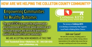 How Are We Helping The Colleton County Community?