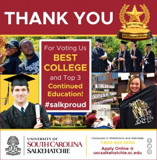 Thank You For Voting Us Best College