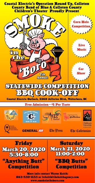 Statewide Competition BBQ Cook-Off